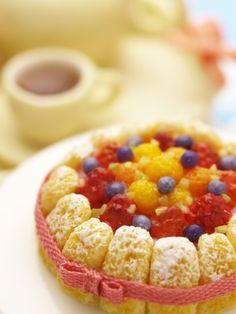 シャルロットケーキ Charlotte cake