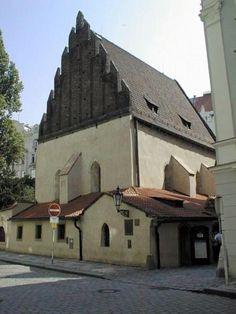 Česko, Praha - Staronová synagoga