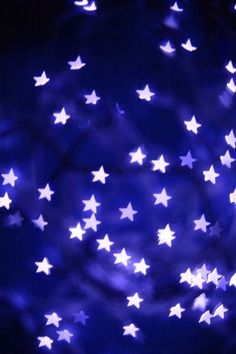 """Star-shaped bokeh """"Starry Night"""" - ©Joshua Raymund (via diyphotography) Love Blue, Blue And White, Color Blue, Purple Aesthetic, Blue Christmas, Stars And Moon, Night Skies, My Favorite Color, Shades Of Blue"""