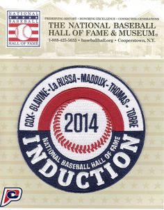 2014 Hall of Fame MLB Induction Patch!
