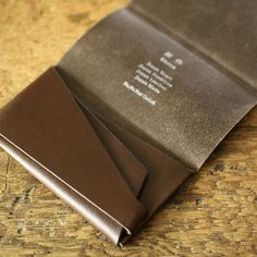 Shosa ORIGAMI leather card wallet | UGUiSU Online Store