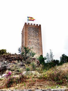Vélez-Málaga. Torre de homenaje del Castillo de Vélez-Málaga.