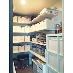 My Shelf,パントリー収納,パントリー内部,パントリー,ZEROJAPAN,MMだ円,タッパーウェア,インボックス,squ+,KALLAX,IKEA,MICKE yucchinの部屋