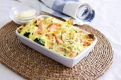 Scottish Kiln Roasted Smoked Salmon, Broccoli & Potato Bake