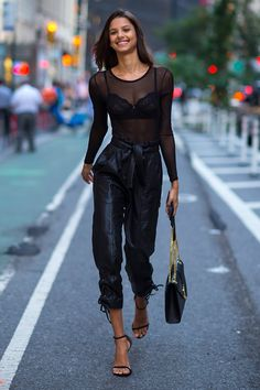 Victoria's Secret street style: what the models wear off duty