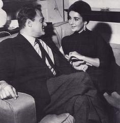 Liz Taylor con Mike Todd