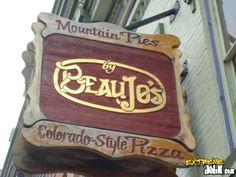 idaho springs colorado beaujos - Bing Images / BeauJo's famous pizza