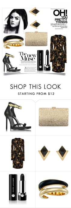 """BG"" by jeriol ❤ liked on Polyvore featuring Versace, Neiman Marcus, Naeem Khan, Accessorize, Marc Jacobs and Michael Kors"