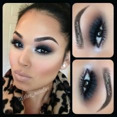 The right look can make a difference. Makeup magic!
