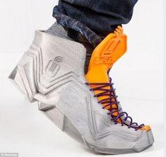 DIY 3D printed shoe #3dPrintedFootware