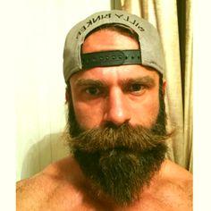 All men should have bushy mustaches. Walrus Mustache, Beard No Mustache, Great Beards, Awesome Beards, Hairy Men, Bearded Men, Scruffy Men, Beard Images, Brown Beard