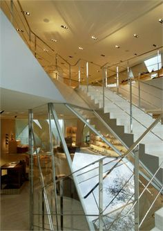 Building Tod's, Tokyo designed by Toyo Ito