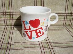 $13 Fiesta Ware Carsons Bonton Love Mug 10 1 4oz Mug   eBay