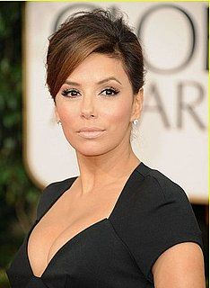 Eva Longoria looking fab with a nude makeup at the 68th Annual Golden Globe