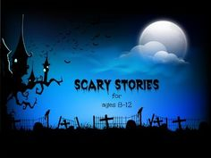 Rabbit Readers Children's Book Club:  18 Scary Stories for ages 8 to 12.