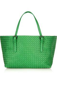 Bottega Veneta|Shopper small intrecciato leather tote|NET-A-PORTER.COM