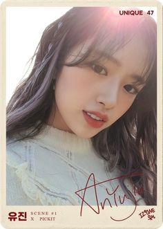 Yu Jin, Japanese Girl Group, Beautiful Fairies, Shining Star, Kim Min, Dimples, Photo Cards, Cool Girl, Portrait Photography