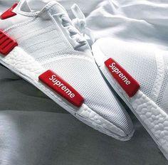 Supreme x Adidas Originals NMD by 📸 ig: kjshotme ❌ lyricsandthreads 💻 Custom Jordan Shoes, Custom Shoes, New Balace, Teen Fashion, Fashion Shoes, Winter Outfits, Casual Outfits, Fresh Outfits, Supreme Clothing