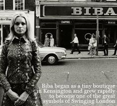 Biba- still fabulous today.  No longer owned by Barbara Hulaniki but the brand has stayed true to her vision