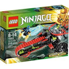 Ninjago The Final Battle - Lego 70501 - Warrior Bike piece set - Ages Lego Ninjago, Ninjago Kai, Power Rangers, Legos, Diy Ninja Costume, Lego Toys, Buy Lego, Lego Projects, 6th Birthday Parties