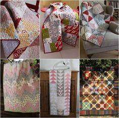 2014 retrospective by http://quiltingstories.blogspot.com/2014/12/2014-retrospective-quilts-baby-quilts.html
