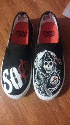 Hey, I found this really awesome Etsy listing at https://www.etsy.com/listing/208217743/handpainted-sons-of-anarchy-shoes