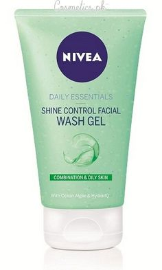 Top 10 Best Face Wash For Oily Skin - Nivea Shine Control Face Wash