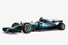 Der neue Silberpfeil F1 W08 Hybrid EQ Power+