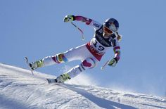 Tina Maze leads after downhill portion of Alpine combined at world championships; Lindsey Vonn seventh Tina Maze, World Cup Skiing, Lindsey Vonn, Ski Racing, Beaver Creek, Alpine Skiing, Ski Boots, World Championship, Skiers