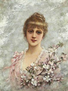 The Athenaeum - The Maiden of Spring (Emile Eisman-Semenowsky)