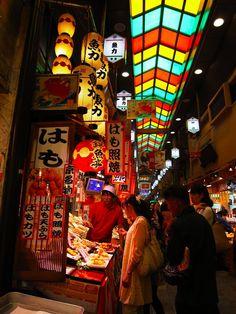 Nishiki Market in kyoto.  度々行きたい旅。: 京都観光:京都の台所・錦市場が観光客に人気上昇!!