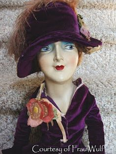"""Big Face"" Boudoir Doll Doll BQ purchase from Farago"