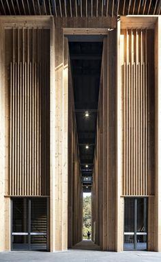 Galería de Centro de conferencias de internet de Shitang / AZL Architects - 9