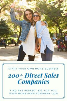 Find the best direct sales company for your personality and earning needs. This list of direct sales companies is sorted by category with of options. Cash From Home, Work From Home Moms, Make Money From Home, Way To Make Money, Direct Sales Companies, Work From Home Companies, Home Party Business, Legitimate Work From Home, Business Opportunities