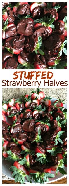 Stuffed Strawberry Halves