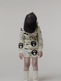 Quirky playsuit for kids spring 2015 fashion by Caroline Bosmans