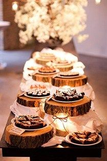 Ask any of our lovely friends and family members- Brad and I LOVE our chocolate. A dessert buffet will be hosted after our wedding dinner for our guests to enjoy