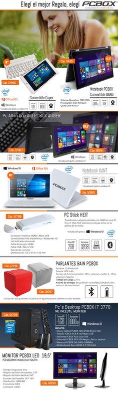 PCBOX Argentina #parlantes #notebook #monitor #PCStick #tablet  www.gvinformatica.com.ar #Olivos_VL #FloridaEsteVL #VecinosVL