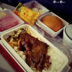 Air Meal China Airline #Taiwan to #Shanghai