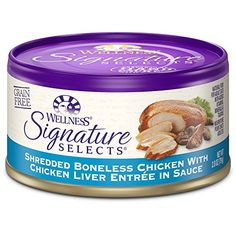 Wellness Signature Selects Natural Canned Grain Free Wet Cat Food Shredded Chicken  Chicken Liver 28Ounce Can Pack of 24 * Find out more about the great product at the image link.Note:It is affiliate link to Amazon.
