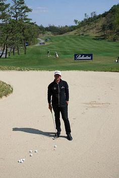 Adam Scott Golf Clinic at The Ballantine's Championship