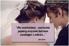 Akt małżeństwa – wariackie papiery wręczone... #Gross-Jan,  #Małżeństwo, #Miłość