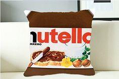 Nutella Label Printout Quic Pillow Case (16x16 one side) -