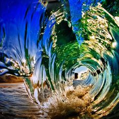 Morning Glass - Clark Little Photography Water Waves, Sea Waves, All Nature, Amazing Nature, Ocean Pictures, Cool Pictures, Beautiful Ocean, Beautiful World, Waves Photography