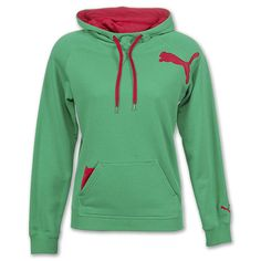 Puma Local Women's Hoodie | Mint/Rose