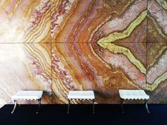 Mies Van Der Rohe - this wall makes a statement.  Simply beautiful.