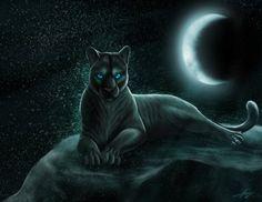 Panthera - Goddess of the Moon by GoldenPhoenix100.deviantart.com