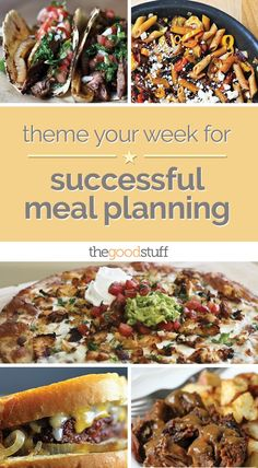 Theme Your Week for Successful Meal Planning