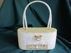 RIALTO NY Original Plastic Bag Lucite Purse by GOSHENPICKERS, $90.00
