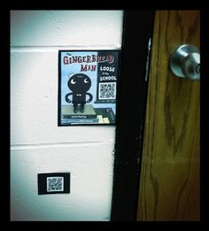 Van Meter Elementary Library VOICE: Our Kids Caught the Gingerbread Man With a Little Help From a QR Code